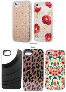 super popular 5e2c0 a164b Details about Brand New!! Sonix Clear Coat & Inlay Cases for iPhone 5 / 5s  / SE