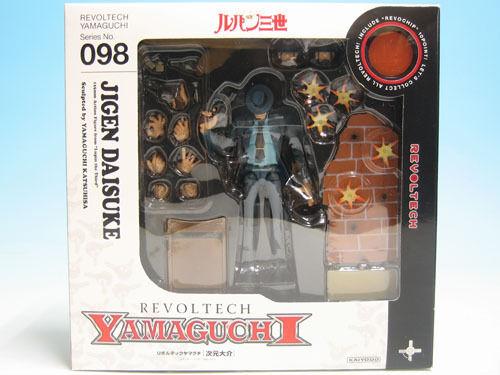 [FROM JAPAN]REVOLTECH YAMAGUCHI 98 Lupin Episode III Daisuke Jigen Action Fi...
