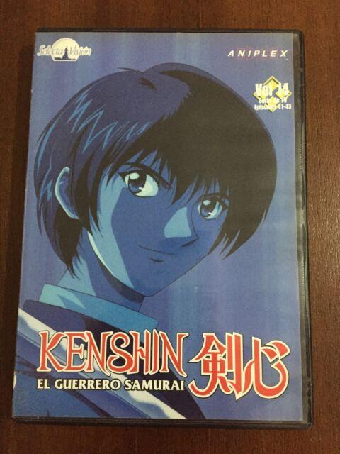 KENSHIN EL GUERRERO SAMURAI - VOL 14 - CAPS 41 A 43 - SELECTA VISION - 80 MIN
