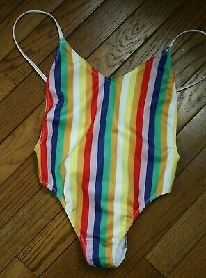 KENDALL KYLIE Low Back 1 Piece Swimsuit