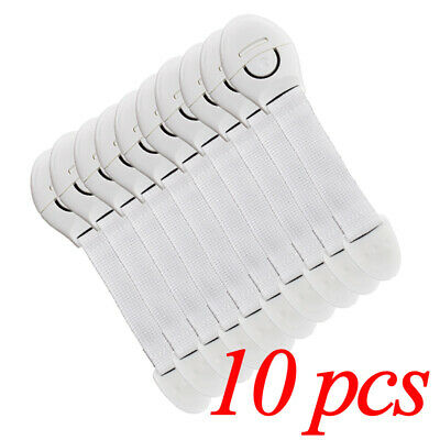 10pcs/lot Multifunctional Abs Soft Baby Protection Safety Lock In Refrigerator C