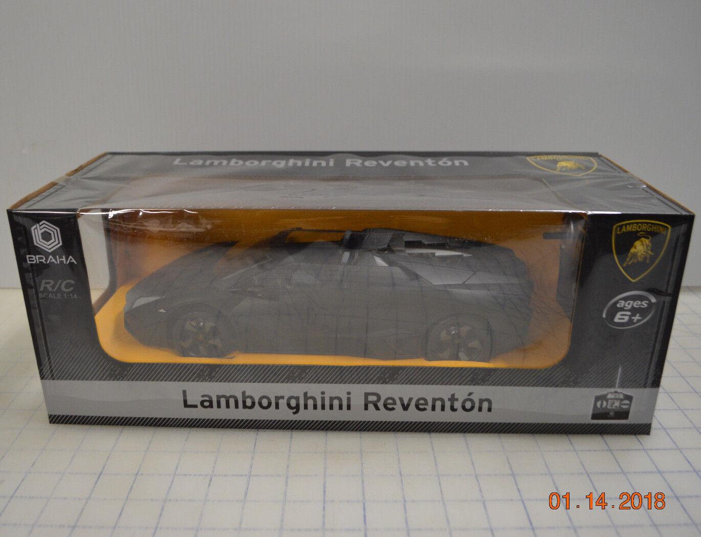 Profa Radio Control De Radio Control Lamborghini Reventon Escala 1 14 marca Nuevo Negro Remoto