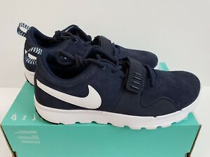 finest selection 5b69d e8a0f Image is loading NIKE-SB-TRAINERENDOR-L-SZ-9-OBSIDIAN-WHITE-