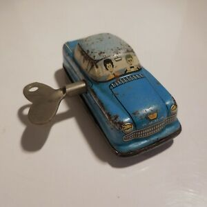 Voiture-miniature-jouet-mecanique-vintage-GE-1960-made-in-WESTERN-GERMANY-N4649