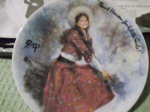Thank-Heaven-for-Little-Girls-LESLIE-CARON-as-Gigi-Henri-D-039-Arceau-Plate-039-d