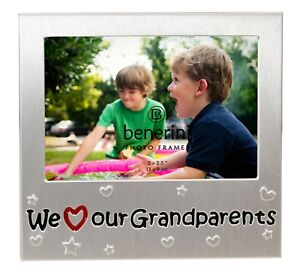 We Love Our Grandparents Photo Picture Frame Birthday Xmas Grandma