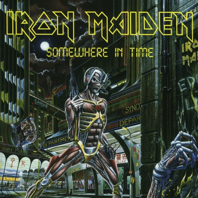 IRON MAIDEN Somewhere In Time 180gm Vinyl LP NEW & SEALED