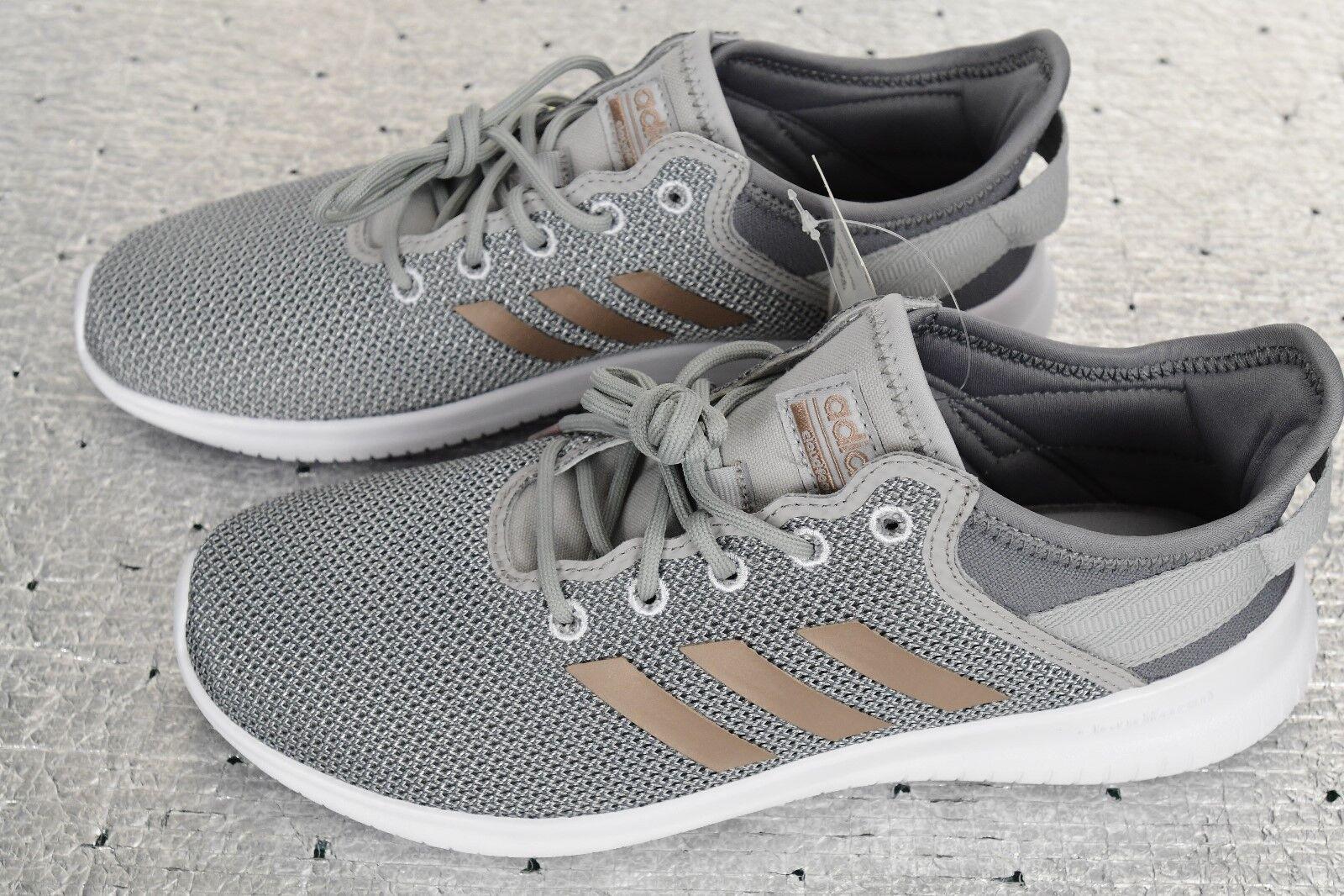 a8f42a446fe88 New Adidas Cloudform CF Qtflex Qtflex Qtflex DA9835 Gray Running Shoes Women  US 9 1489eb
