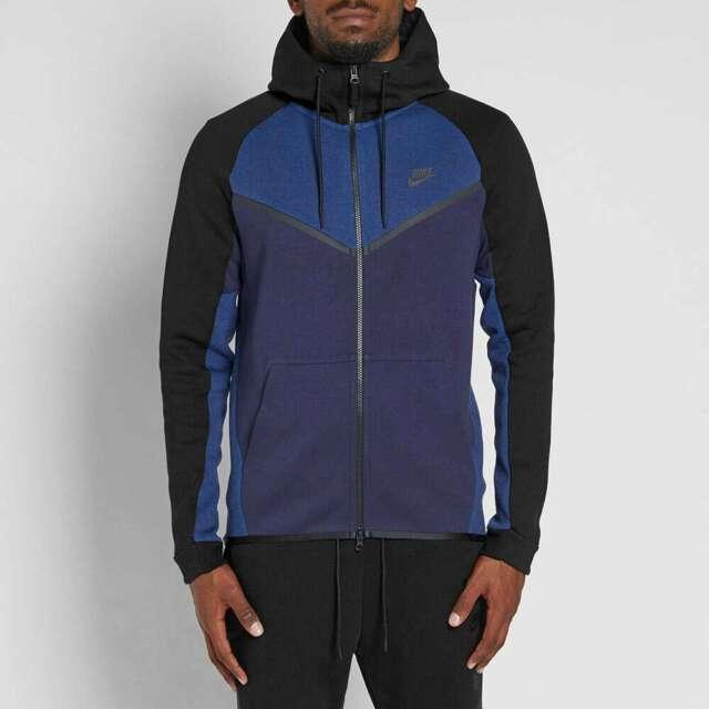 Nike Tech Fleece Hoodie Navy Blue Off 73 Free Shipping