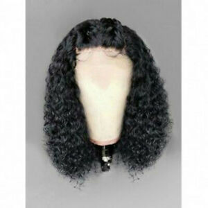 Short-Lace-Front-Wig-Curly-Brazilian-virgin-100-Human-Hair-Wigs-Pre-Plucked