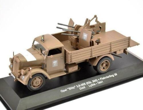 305 Opel Blitz 3,6-36S Kfz Flakvierling 38 DAK Lybia 1941 AEMV73 ALTAYA 1:43