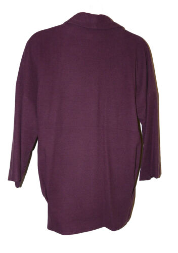 Bnwt Colour Limited Collection Dusk W Size Collar Coat In Shawl aubergine 14 PwHPqr