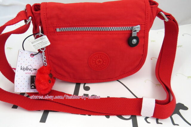 bfe9554bd Kipling Sabian Crossbody Metallic Minibag Cayenne for sale online | eBay