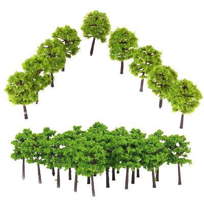 1:250 Scale Model Train Railway Landscape Building Tree Models N Layout 80x