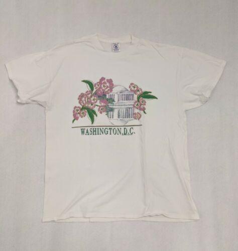 Vintage T Shirt Mens XL Washington DC Graphic Souv