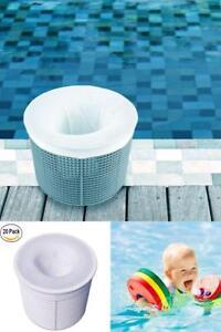 20 Pack Pool Filter Saver Skimmer Socks Basket Sleeve Net