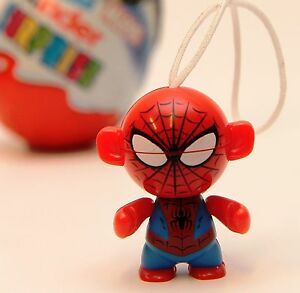 Spiderman Kinder Egg Surprise Toy Super Hero Marvel Figure