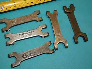 éNergique 5 Vintage Radnalls Surefit Toolkit Spanner Wrench Tools