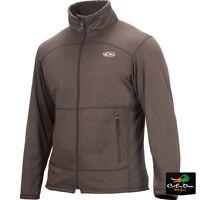 Drake Waterfowl Breathlite Full Zip Pullover Jacket Mud Gray Xl