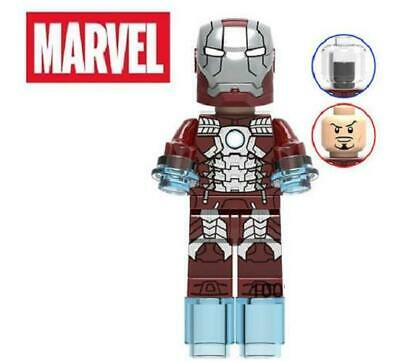 Iron Man Mk 50 Marvel Avengers Custom Minifigure Minifig Mini Figure 207