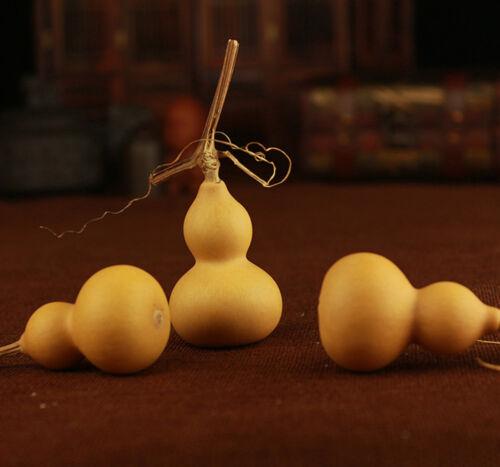 10pcs Natural Bottle Gourds Craft Dried Calabash Cucurbit 4-6CM DIY Home Decor