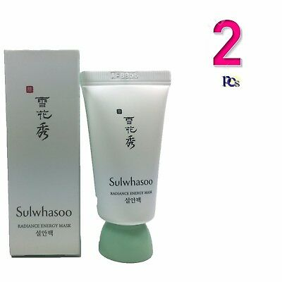 Sulwhasoo Radiance Energy Mask Moisture 15ml x 2pcs (30ml) Skin Softening