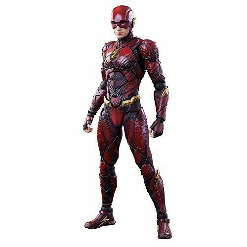 Square Enix Justice League Play Arts Kai Flash Figure NEW from Japan