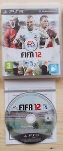FIFA 12 Sony PS3 Comme neuf