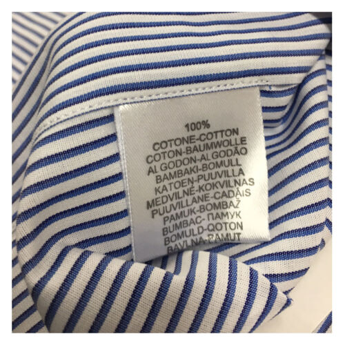 Blanc Chemise À Icon Manches Homme Re Courtes coton 100 1961 Lab Rayures bleu FFxqE8