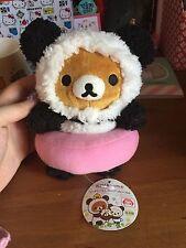 Rilakkuma Plushie - Panda De Goran - UFO Catcher Japan Import RARE KAWAII PLUSH