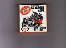 Keystone Cops S8 B&W Silent Movie