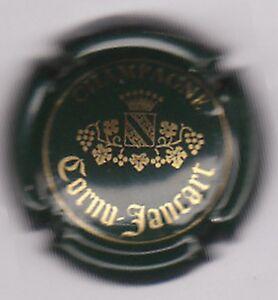 capsule-de-champagne-CORNU-JANCART-vert-fonce-et-or