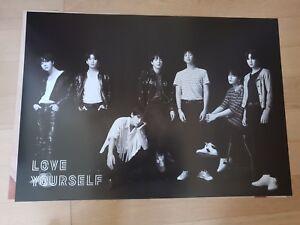 Official Poster New K-POP BTS Bangtan Boys Love Yourself 轉 /'Tear/' U Ver