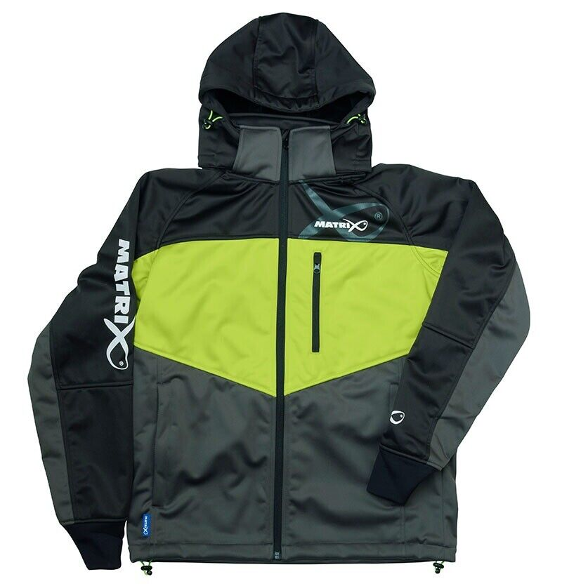 Fox Matrix vento bloccanti Fleece Jacket windblockerjacke Angel Giacca Giacca Jacket