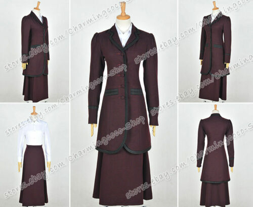 Doctor Is Who 8th Season Ninth Master Dark Water Female Missy Mistress Suit New