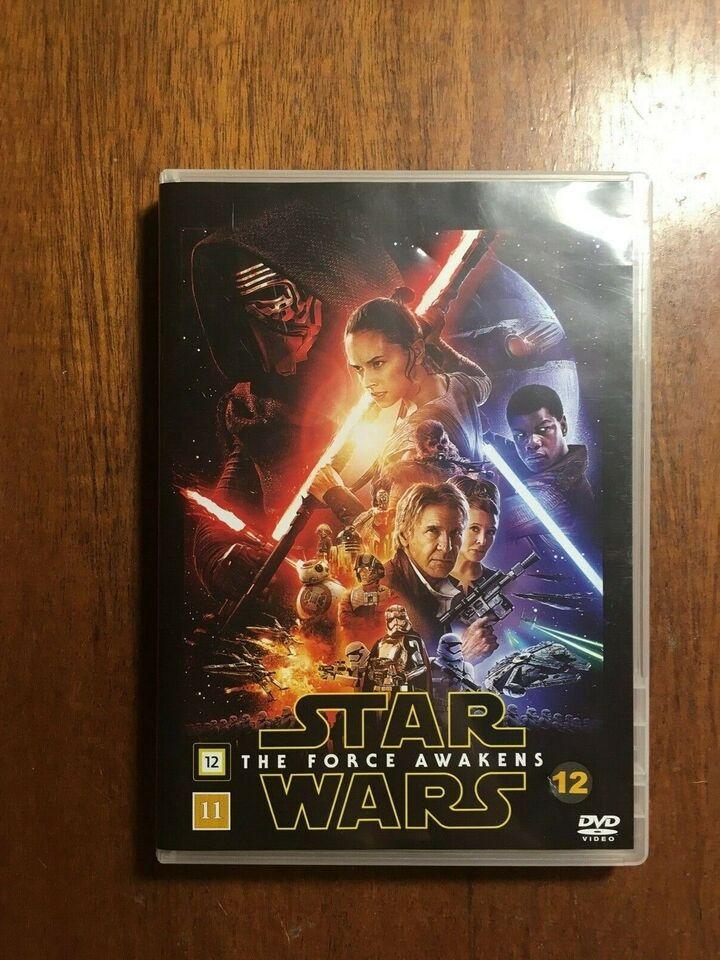 Star Wars The Force Awakens, instruktør J. J. Abrams, DVD
