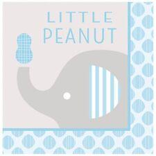 Baby Shower Boy 'Little Peanut' Elephant - Party Luncheon Napkins