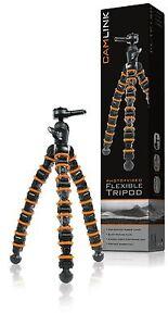 Camlink-CL-TP150-Flexible-tripod-9-sections-325mm-2-5kg-Digital-Camera-DSLR