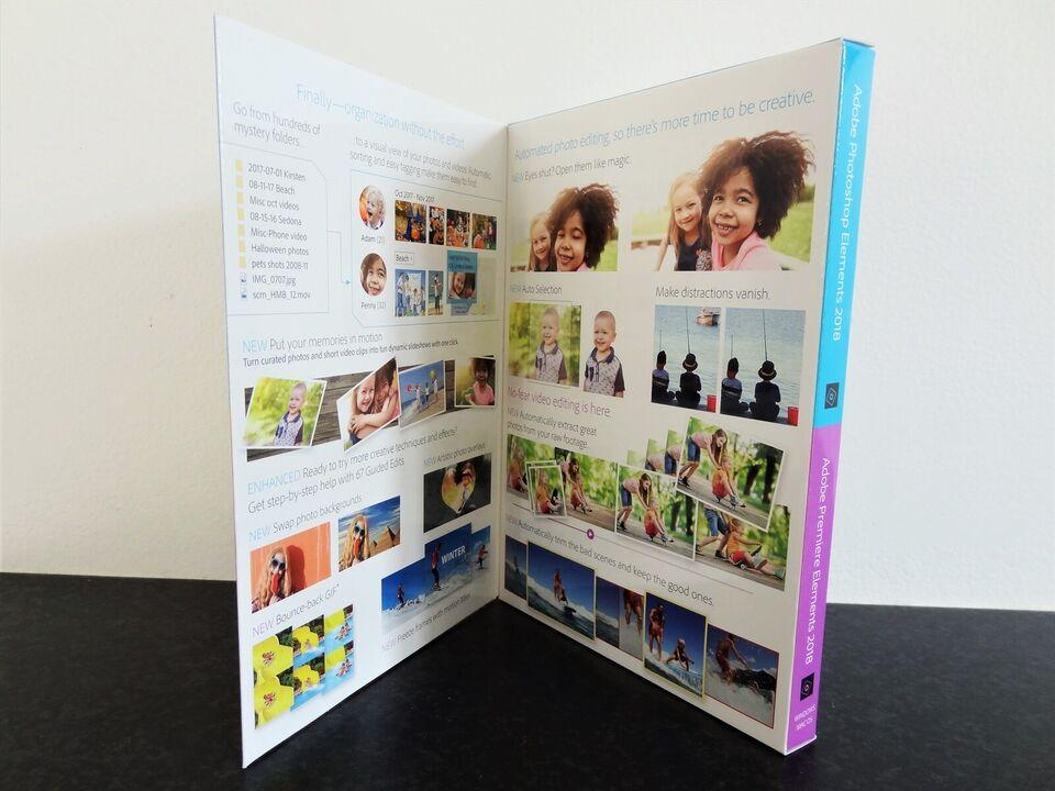 Videoredigeringsprogram, Adobe Photoshop Elemts &