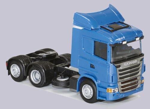 SZM 3achs blau 8429.51 AWM LKW Scania R 09 Aerop