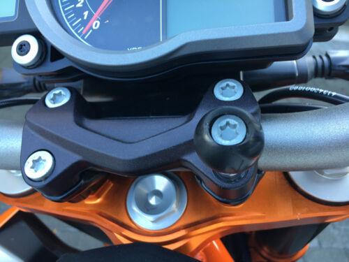 "RAM-Mount 1/"" Kugel VA TORX Schraube KTM Duke 390 R"