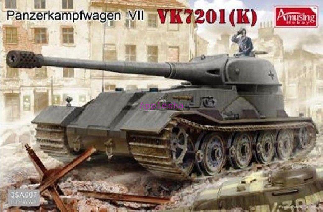 Amusing Hobby 35A007 1 35 Panzerkampfwagen VII VK7201(K)