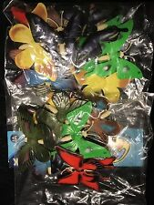 LOT OF 24 Plastic Butterfly Bug Insect Figures Craft Party Bag Fillers USA SHIP