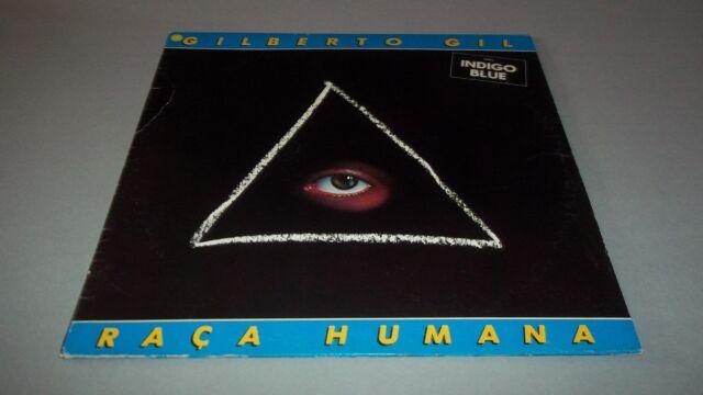 GILBERTO GIL - RACA HUMANA -  LP - MADE IN ITALY