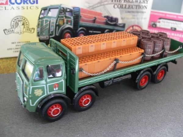 150 CORGI ERF DELIVERY TRUCK Set John Smiths birrificio GB 09801