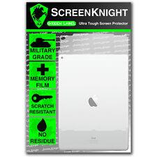 ScreenKnight Apple iPad Pro 12.9 (1st Gen) BACK PROTECTOR Military Shield
