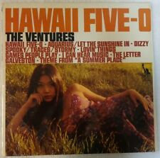 THE VENTURES 1969 LP ~HAWAII FIVE-O~ LIBERTY LST 8061 COVER IN SHRINK VG+ VINYL