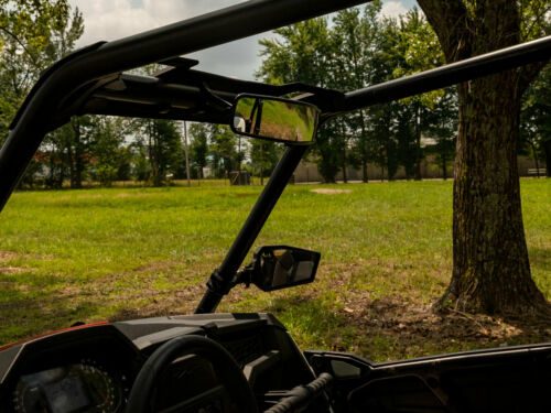 """XP 1000 4 2016+ SuperATV 17/"""" Curved Rear View Mirror for Polaris General"""