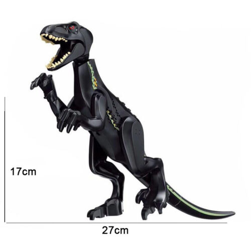 "Indominus Indoraptor XL Jurassic Large Dinosaur 7x11/"" Figure Blocks Fit Lego Toy"