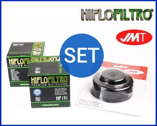 2x Hiflo Ölfilter HF191 Ölfilterschlüssel Triumph Daytona 600